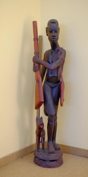 зала статуя детайл